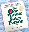The One Minute Sales Person - Spencer Johnson M.D.  Audio Book CD