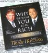 Why we want You to be Rich TRUMP & KIYOSAKI AudioBook NEW CD