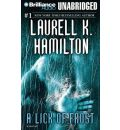 A Lick of Frost by Laurell K Hamilton Audio Book Mp3-CD