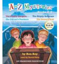 A to Z Mysteries: Books D-G by Ron Roy Audio Book CD