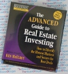 The Advanced Guide to Real Estate Investing - Robert Kiyosaki and Ken McElroy - AudioBook CD