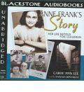 Anne Frank's Story by Carol Ann Lee Audio Book CD