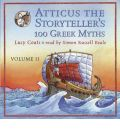 Atticus the Storyteller's 100 Greek Myths by Lucy Coats AudioBook CD