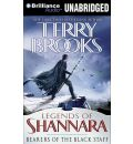 Bearers of the Black Staff by Terry Brooks Audio Book CD