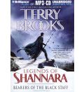 Bearers of the Black Staff by Terry Brooks AudioBook Mp3-CD