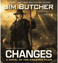 Changes by Jim Butcher Audio Book CD