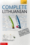 Teach Yourself Complete Lithuanian - 2 Audio CDs  and Book - Learn to speak Lithuanian