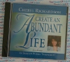 Create an Abundant Life - Cheryl Richardson - AudioBook CD