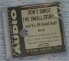 Don't Sweat the Small Stuff - Richard Carlson - AudioBook CD
