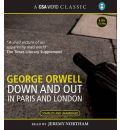 Down and Out in Paris and London by George Orwell Audio Book CD