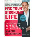 Find Your Strongest Life by Marcus Buckingham AudioBook CD
