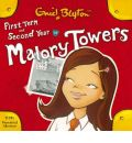 First Form at Malory Towers: AND Second Year at Malory Towers by Enid Blyton Audio Book CD