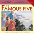 Five Fall into Adventure: WITH Five Get into Trouble by Enid Blyton Audio Book CD