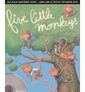 Five Little Monkeys by Emily Skinner Audio Book CD