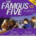 Five on Treasure Island: AND Five on a Secret Trail by Enid Blyton Audio Book CD