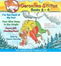 Geronimo Stilton Books 4-6 by Geronimo Stilton AudioBook CD
