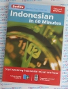 Berlitz Indonesian in 60 Minutes - Learn to Speak Indonesian - AudioBook CD