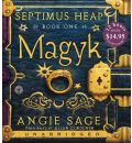 Magyk by Angie Sage AudioBook CD