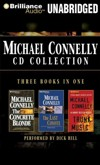 Michael Connelly Collection -Concrete Blond - Last Coyote -Trunk Music- AudioBook CD NEW Harry Bosch