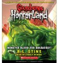 Monster Blood for Breakfast by R L Stine Audio Book CD