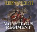 Monstrous Regiment by Terry Pratchett Audio Book CD