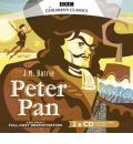 Peter Pan by J. M. Barrie AudioBook CD