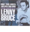 Shut Your Mouth Lenny Bruce by Keith Rodway AudioBook CD