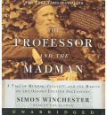 The Professor and the Madman by Simon Winchester Audio Book CD