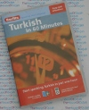 Berlitz Turkish in 60 Minutes - Audio CD and Book -Learn to speak Turkish