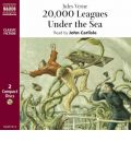Twenty Thousand Leagues Under the Sea by Jules Verne AudioBook CD