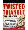 Twisted Triangle by Caitlin Rother Audio Book CD